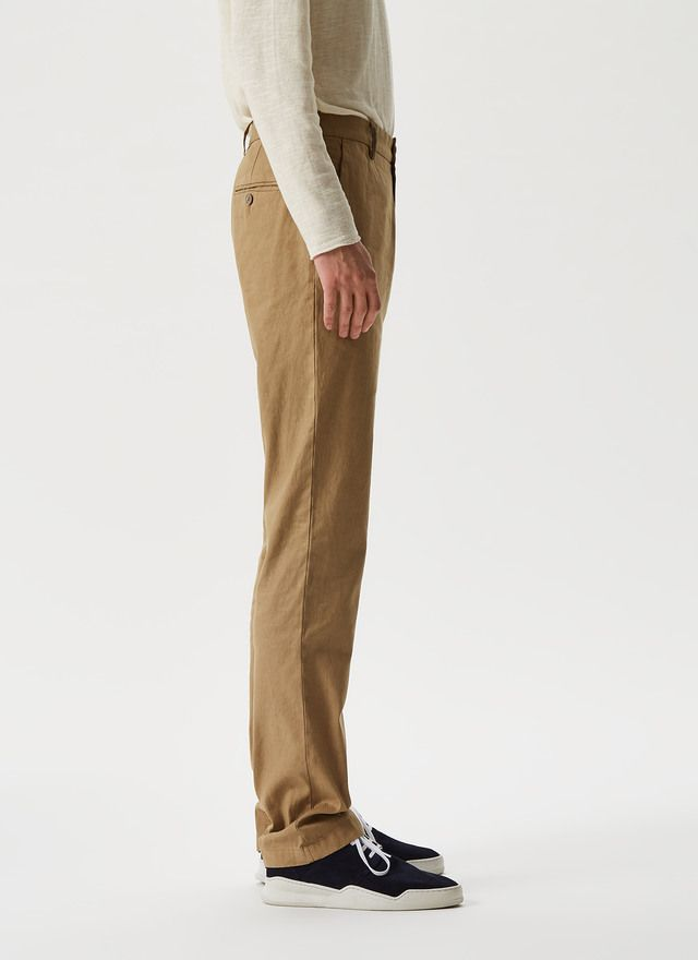 Pantalon Tipo Chino Microdibujo Camisas Hombre Camisas Hombres