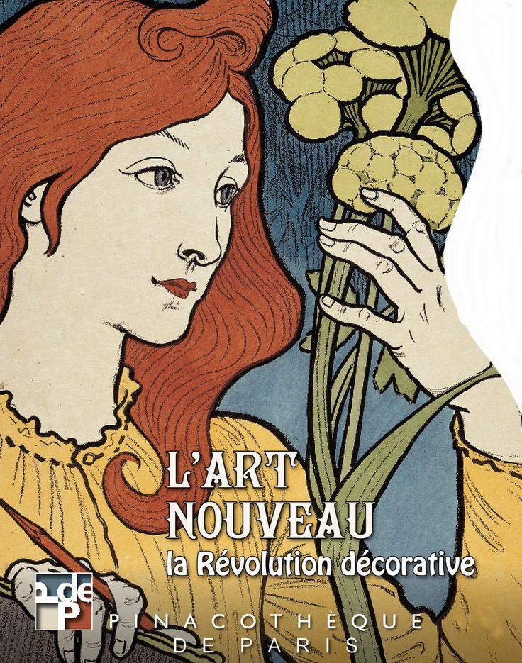 L'art nouveau, la révolution décorative à la Pinacothèque de Paris - 18 avril au 8 septembre 2013. En réaction au classicisme, l'Art nouveau n'impose aucune obligation à l'artiste. Conçu comme l'art de la liberté, il se dégage des convenances qui entravaient jusque-là la création. Les formes codifiées qui sont la caractéristique de l'académisme volent en éclats comme pour faire de l'Art nouveau un art transgressif au cœur duquel l'érotisme devient une donnée incontournable.