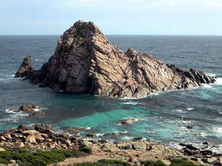 Sugarloaf Rock near Cape Naturaliste in Western Australia is the most southerly nesting site for the red-tailed tropic bird.