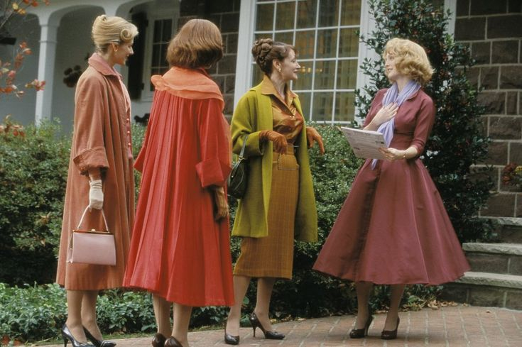 "The beautiful Fall colours used in the costumes of 2002's ""Far From Heaven""."