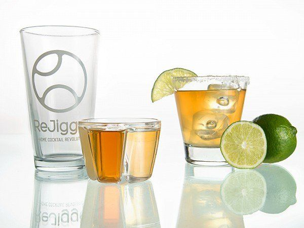 These Home Bar Accessories, discovered by The Grommet, help you create a perfect cocktail everytime. This kit includes even includes recepies to get you started