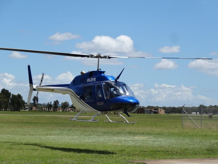 Learn to fly a JetRanger helicopter at our helicopter pilot training school at Newcastle Airport, Williamtown