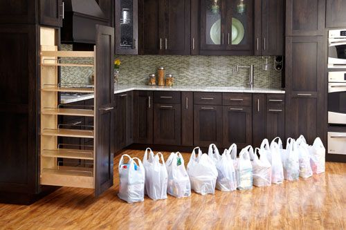 448-TP Pullout Wood Pantry � the decluttering handbook