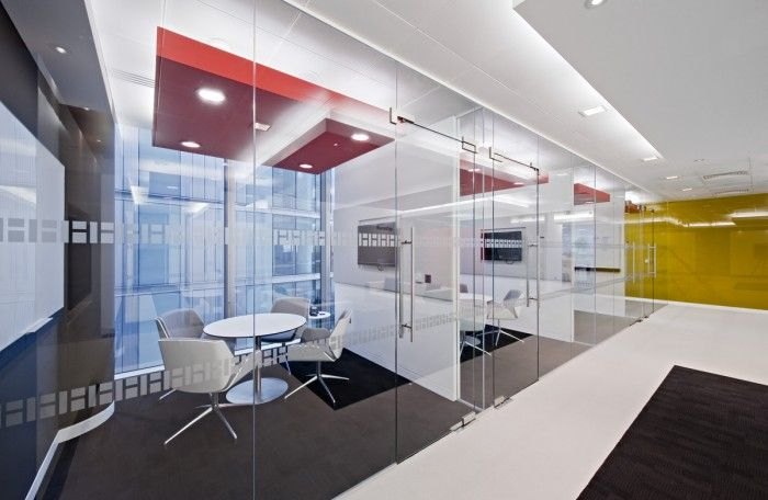 Perfect side-by-side conference rooms!