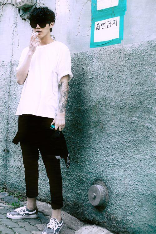 手机壳定制running shoes for men asics Korean street style Raddest Looks On The Internet http  www raddestlooks net
