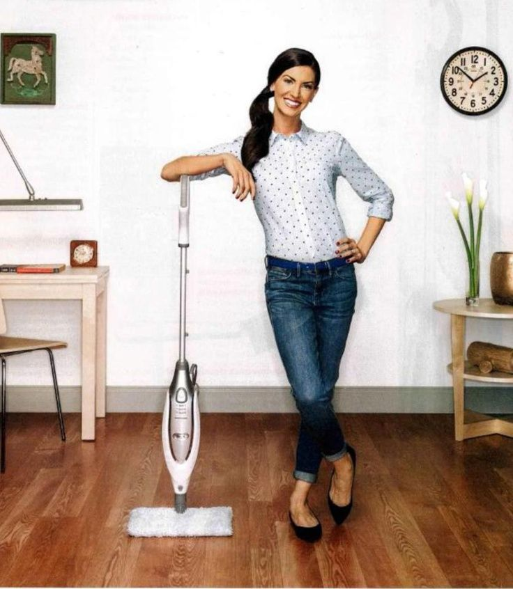 """No time to clean? Real Simple highlights the Shark Steam Pocket Mop as one of """"The Best Cleaning Ideas: Past, Present, and Future."""" What old cleaning tools has your Steam Mop replaced?"""