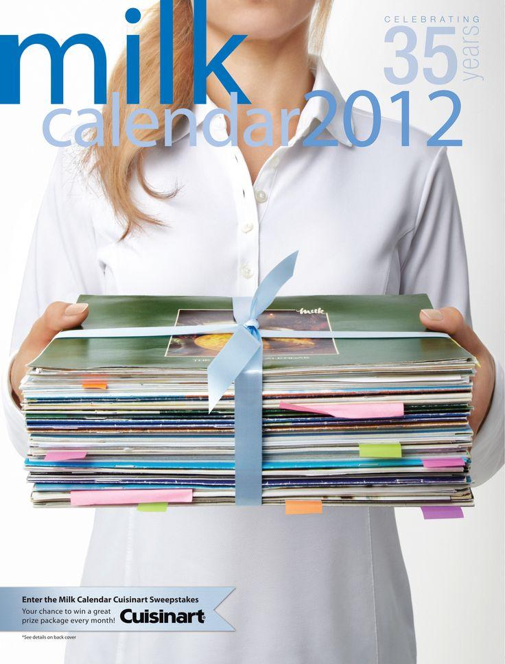 Milk Calendar - 2012