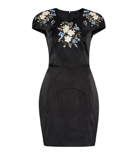 Cue - Product Details - Floral Embroidered Dress