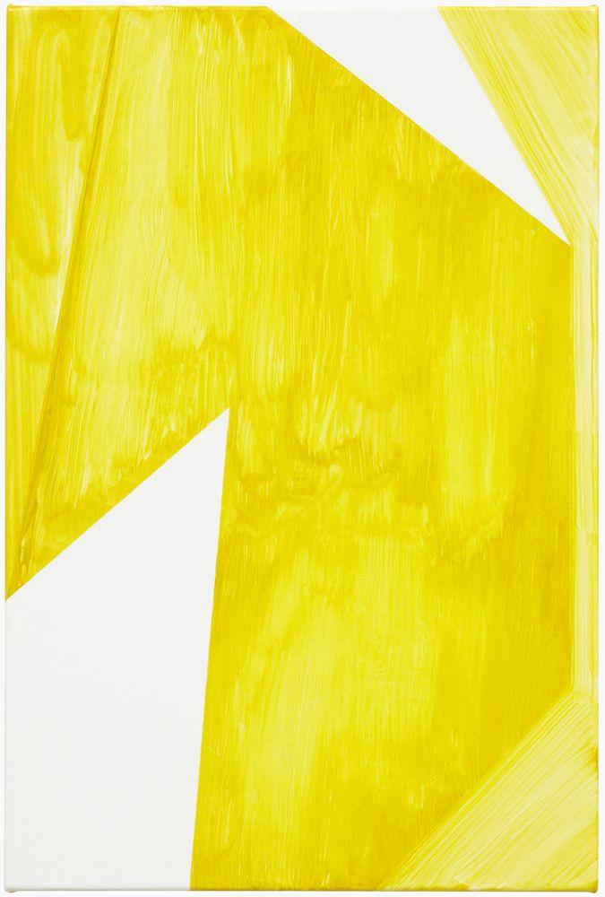 Robert Holyhead - Untitled (yellow) 2012.