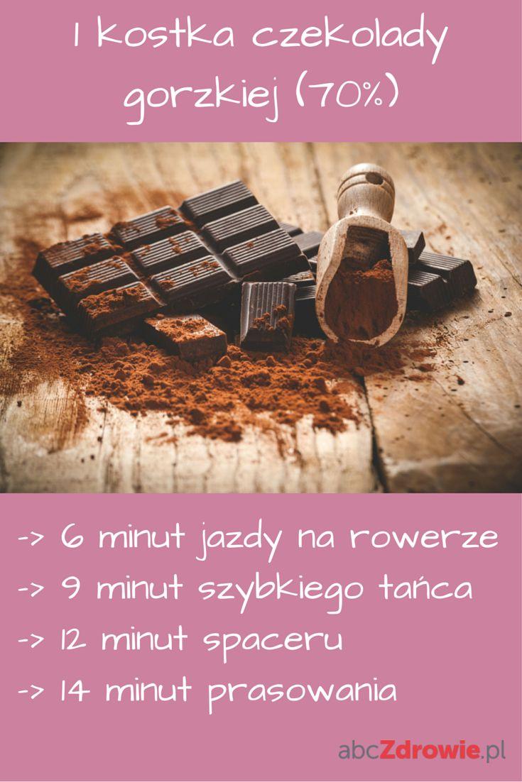 Lubicie czekoladę? Zobaczcie, co trzeba zrobić, żeby spalić jedną kostkę gorzkiej czekolady!  #czekolada #gorzka #spalanie #dieta #słodycze #przekąska #rower #dieta #spacer #chocolate #dessert #snacks #choco #tasty #diet #healthy #abcZdrowie