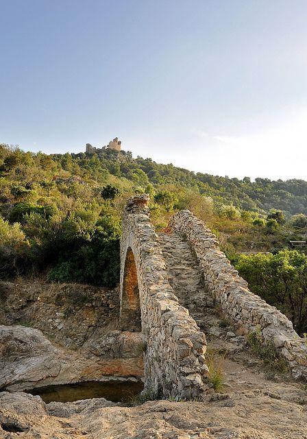 Pont-siphon - Grimaud, Provence-Alpes-Cote d'Azur, France #grimaud www.facebook.com/grimaudtourisme