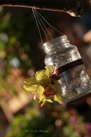 Flower on the outside.Gardens Ideas, Juηƙ ÐraฬᏋR, Floral Creations, Etes Summer, Long Living, Mason Jars, Glorious Outdoor, Beautiful Gardens, Mun Roinaa
