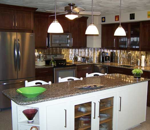 Kitchen Remodel In Coventry, RI. Designed By Coventry Lumber In Coventry,  RI.