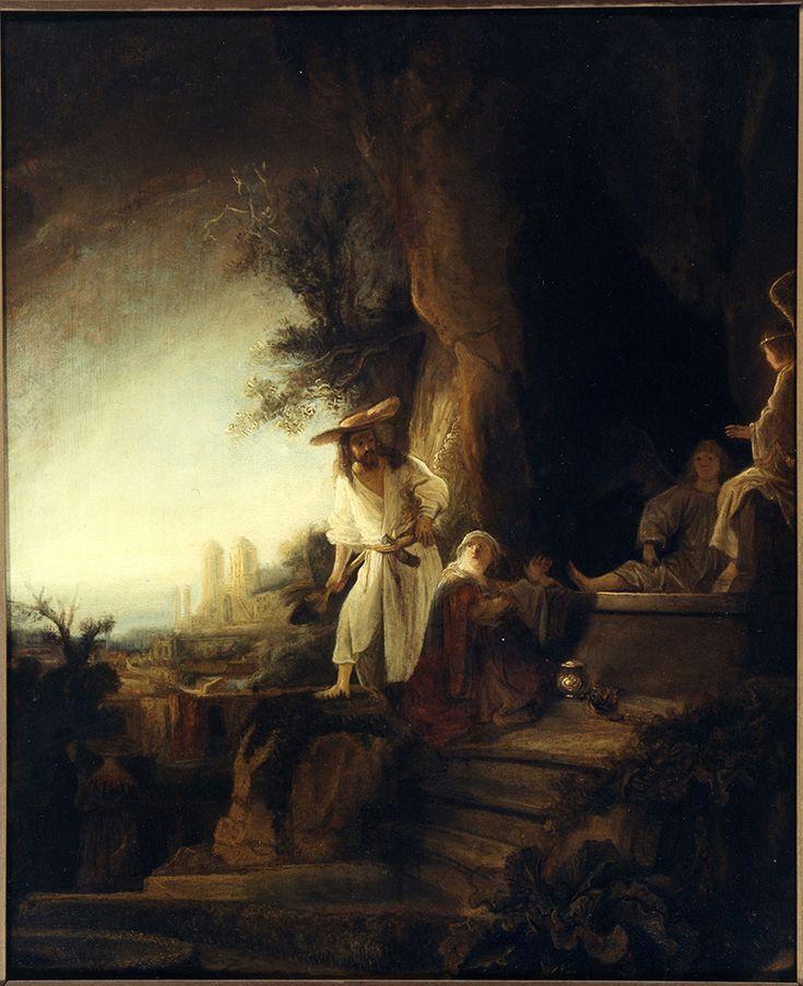 Ferdinand Bol: De opgestane Heer verschijnt aan Maria Magdalena (Christus als Hovenier), ca 1638/39