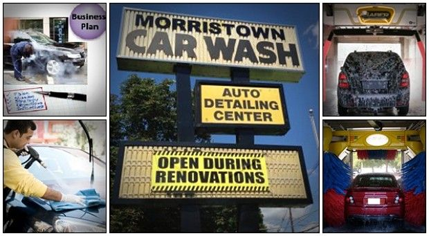 Research the specific prices of certain materials, services which other car wash businesses provide.