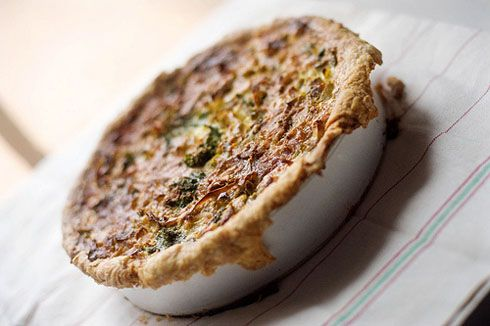 spinach and leek quiche | Vegetarian/Side Dish recipes | Pinterest