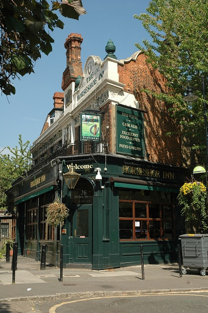 The Horseshoe Inn Public House (completed 1897) Melior Street SE1, Bermondsey, London.