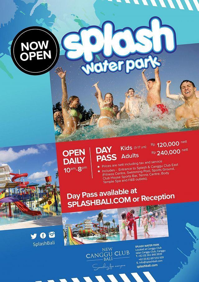 Аквапарк WATERBOOM и другие аквапарки на Бали