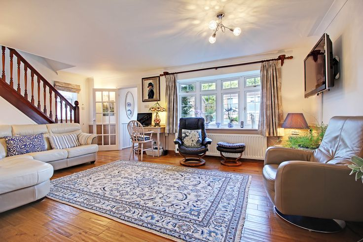 A lovely open spaced living room!