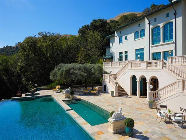 Robin Williams: Robinwilliams, Celebrity Homes, Pool, Napa Valley, Robin Williams, Real Estate, Robins, House