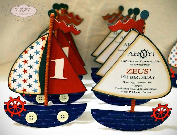 Nautical Themed First Birthday Party