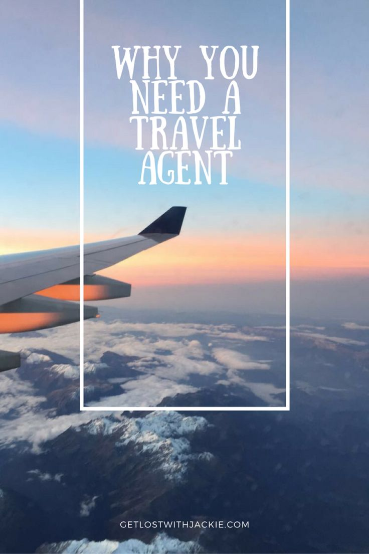 Most people don't bother getting a travel agent, but that's a BIG MISTAKE! Booking with a travel agent saves you money and a lot of time dealing with problems while you're traveling. That's just the beginning! Check out why you need a travel agent and how it can help make your next trip stress free and cheaper. Don't forget to save this to your travel board so you can find it later.