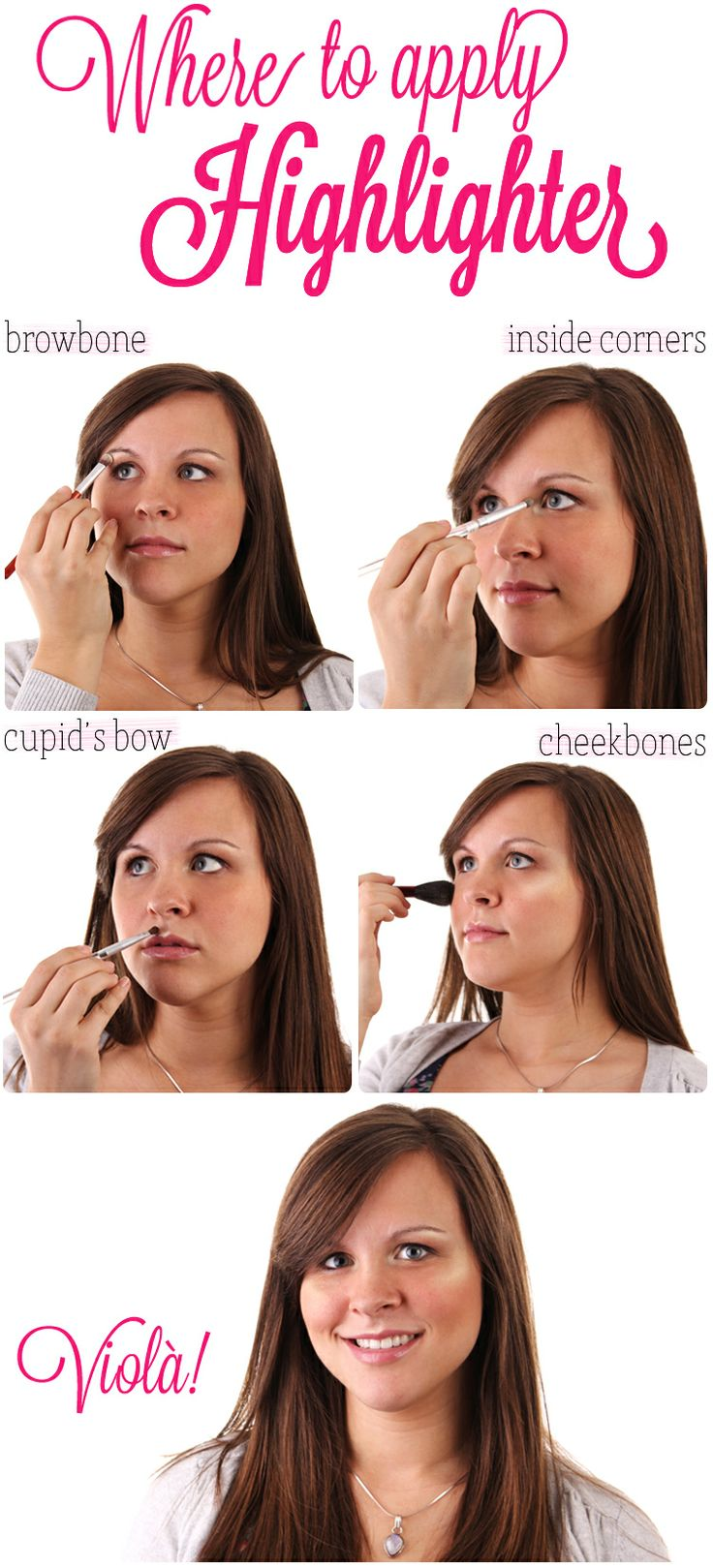 Makeup Tip How to Apply Highlighter on