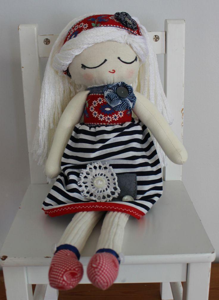 Cloth Doll Plush : Livvie