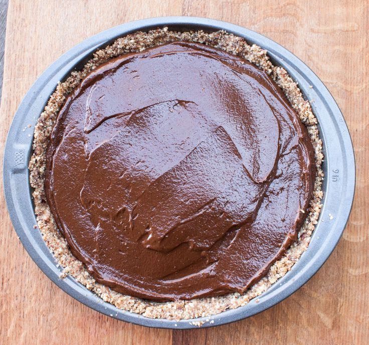 Chocolate Avocado Pie | This Organic Life #grainfree #glutenfree