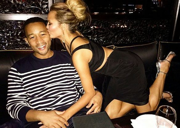 John Legend And Chrissy Teigen Really Enjoy Being Married To Each Other