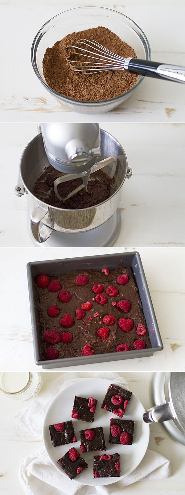 Brighten up the holidays by serving these Fudge Raspberry Mocha Brownies, made with the KitchenAid® Pro Line® Series Stand Mixer. Find the recipe by @girlversusdough on our blog: http://kitchen.ai/qGlWDv
