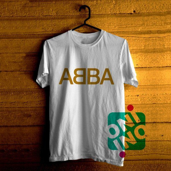 ABBA Logo Tshirt For Men / Women Shirt Color Tees