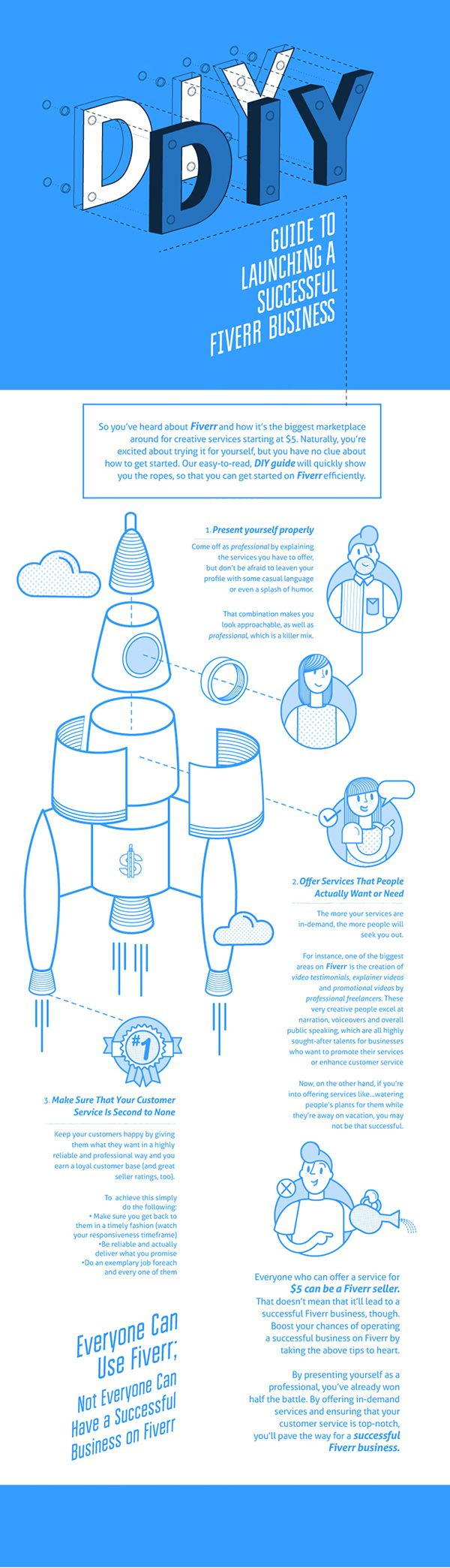 DIY Launch by Nicci Martin, via Behance