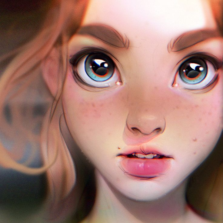 Stylised painting from imagination.