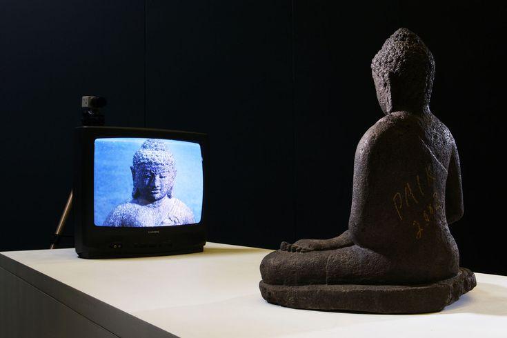 nam june paik tv buddha