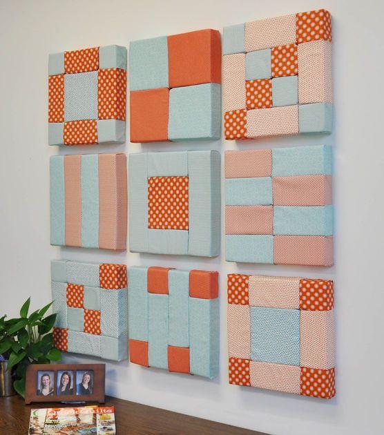 #DIY Foamology Design Foam Wall Art Project