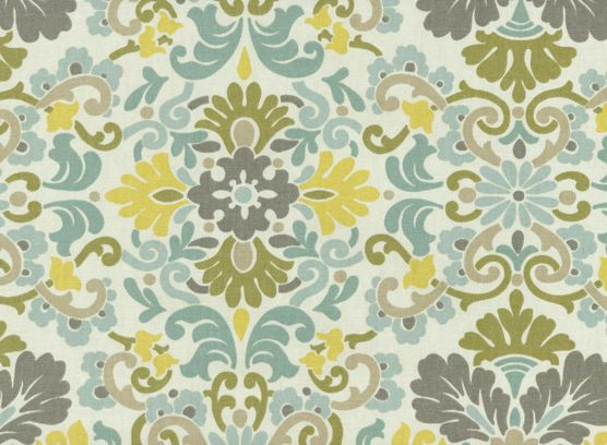 Home Decor Print Fabric- PKL Folk Damask Bliss, , hi-res