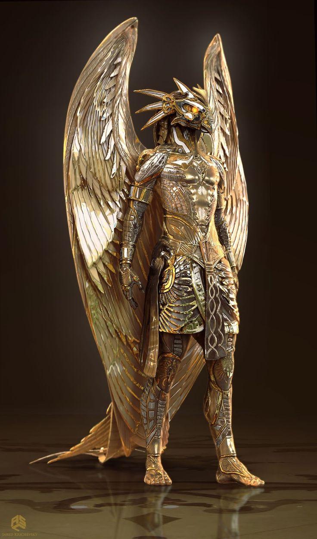 Gods of Egypt Concept Art by Jared Krichevsky