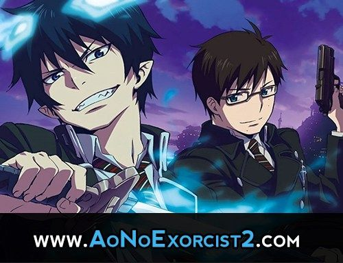 Blue Exorcist Season 2 Count Down,just 5 days to go   Watch Here :   http://aonoexorcist2.com/?p=6   #BlueExorcist #BlueExorcist2 #aonoexorcist