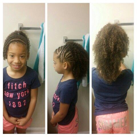 Curly faux-hawk, cute kids hairstyles