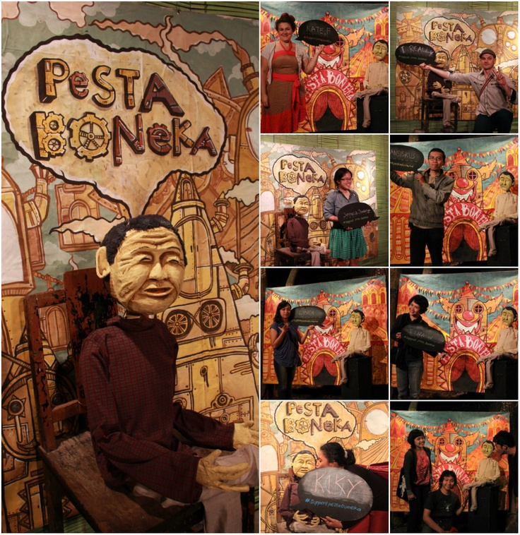 we support pesta boneka!!!