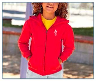 SeaHorse-Collection, kids' zip hooded sweat-shirt, 39,99€