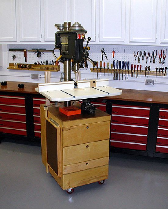 homemade drill press plans pdf