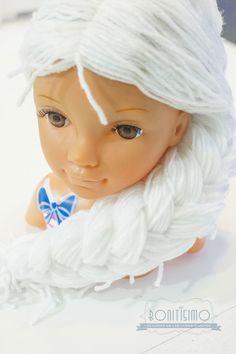 Como hacer una peluca de lana para disfraz de Elsa