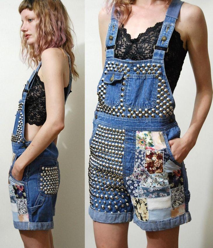 Фото переделанная одежда из джинс