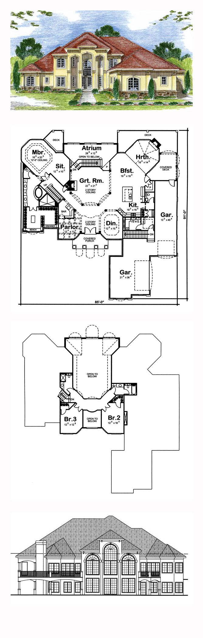 49 best images about southwest house plans on pinterest for Southwest house floor plans