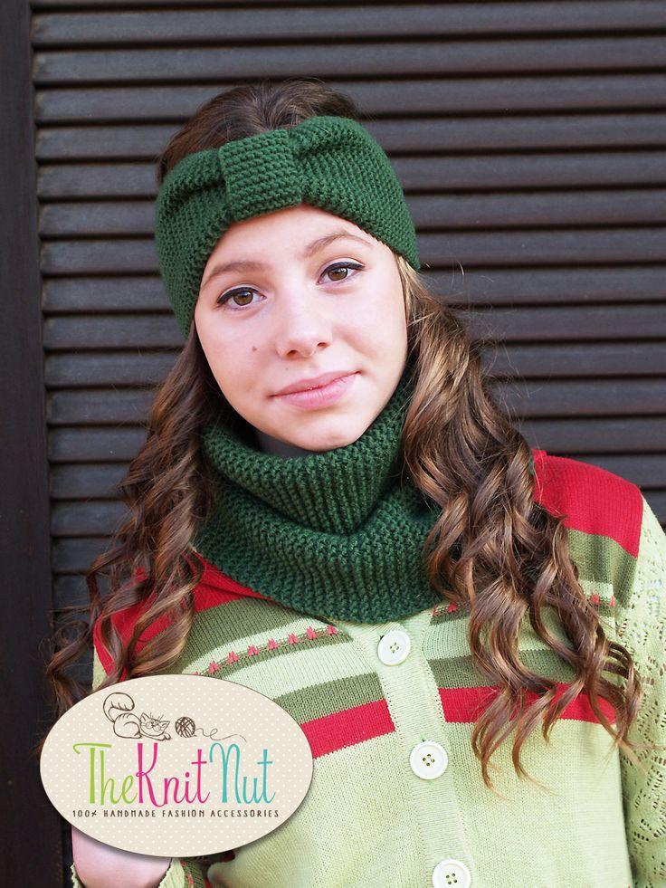 ◕✾ Knitted Headband, Turban Headband, Winter Headband, Knit #Ear-warmer, K... Hand-knitted http://etsy.me/2hWRLUB