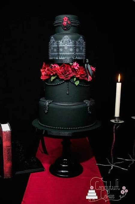 Cake Wrecks - Home - Sunday Sweets: GothicElegance  A gorgeous collection of gothic-inspired cakes