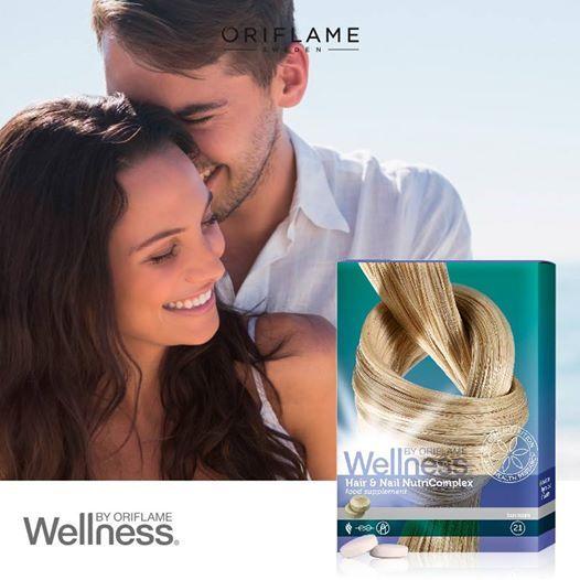 ¿Se te cae el pelo? ¿O quizás tienes uñas frágiles? El Complejo Nutritivo aporta nutrientes esenciales fortaleciendo y previniendo la caída del cabello, además de endurecer las uñas. ¡Funciona mejor aún si lo tomas con el Wellness Pack por un mínimo de 3 meses! #Wellness #WellnesPack #OriflameMX