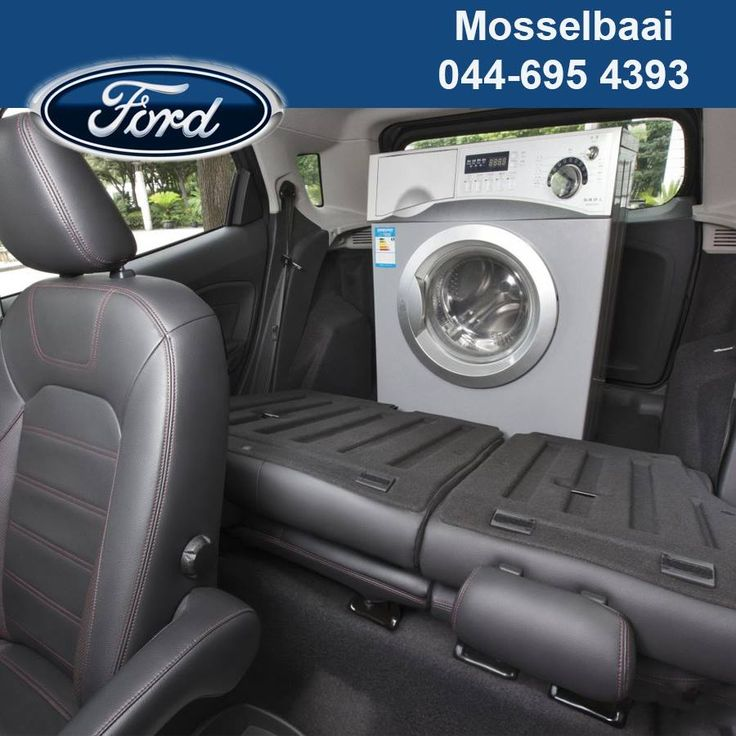 The Ford Ecosport allows you to fold your rear seats flat, giving you 705 litres of space. The 2 back seat passengers can travel in luxury and store their luggage with no discomfort. #fordcars #auto #lifestyle